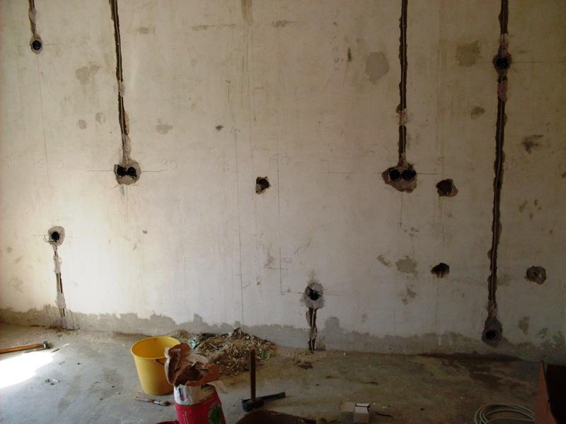 Wand Neu Verputzen Home Ideen